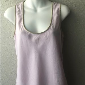 Hilfiger Collection pink sleeveless blouse